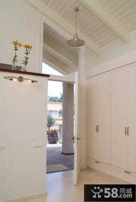 现代时尚简约风格进门玄关装修图片