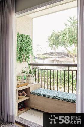 4平米小阳台软装饰设计