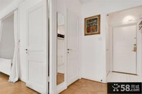 44平方米小户型简约风格进门玄关装修效果图大全