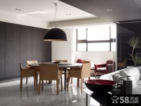 现代简约时尚家居餐厅设计