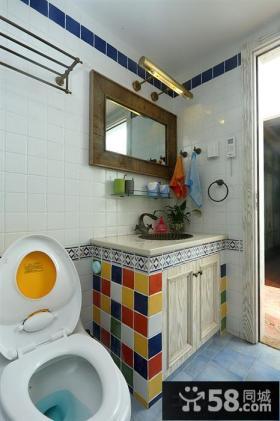 小卫生间瓷砖效果图大全图
