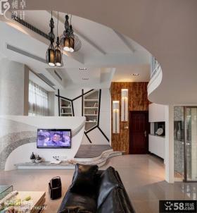 复式楼客厅吊顶设计