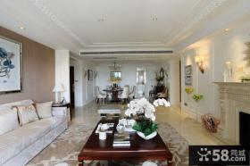 美式温馨装饰客厅设计效果图