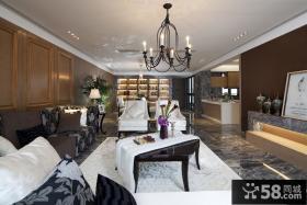 现代豪华别墅室内装饰设计效果图