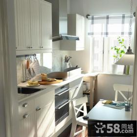 简约风格阳台厨房装修效果图
