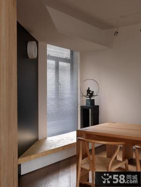 简约风格餐厅小飘窗设计