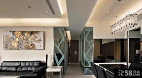 现代风格室内过道吊顶装修