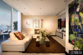 优质现代简约欧式风格客厅设计图片