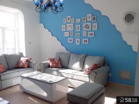 地中海一居室背景墙装修效果图