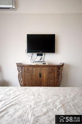 小卧室电视背景墙设计效果图欣赏大全