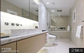 现代风格卫生间浴室一体设计图片