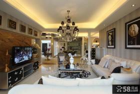 时尚浪漫简欧风格复式家居
