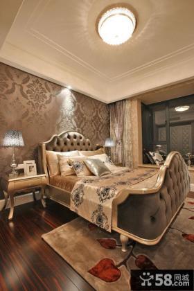 欧式新古典装修设计卧室效果图