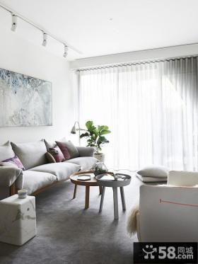 优质北欧风格别墅客厅装修效果图2014