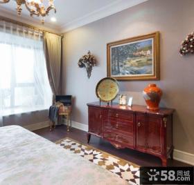 欧式风格卧室装饰图片