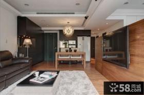 家庭设计时尚客厅电视背景墙图片欣赏大全