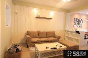 日式风格50平米小户型客厅效果图