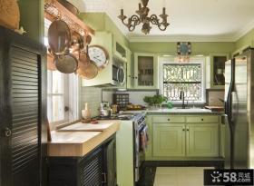 90平米两室一厅厨房效果图