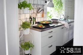 小户型宜家风厨房装修效果图大全2012图片