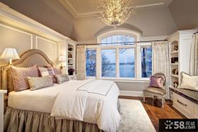 十五平米卧室欧式风格装修
