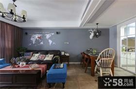 美式客餐厅设计欣赏