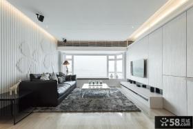 简约设计优质时尚客厅电视背景墙设计图片