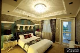 欧式小别墅卧室吊顶图片大全