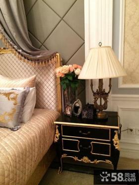 欧式风格卧室床头灯具效果图