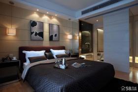 现代风格主卧室装修图