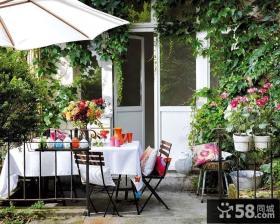家庭设计露天阳台图片欣赏