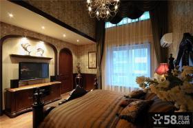 美式乡村风格卧室设计图