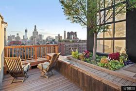 公寓顶楼露台设计