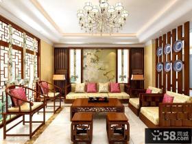 古典中式风格别墅室内设计效果图