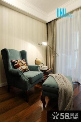 美式风格客厅家具沙发椅图片