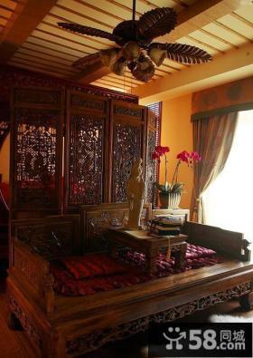 古典中式胡床居室设计装修