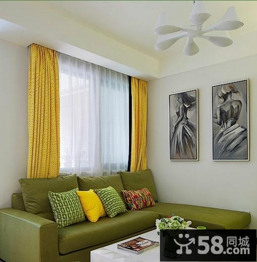 小戶型客廳沙發擺放