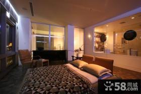 15万打造宜家清新现代风格卧室吊顶装修效果图大全2014图片