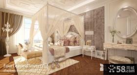 欧式风格主卧室装修效果图欣赏