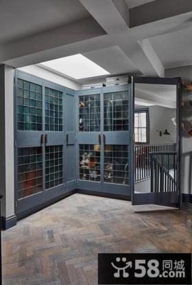 简欧风格设计别墅室内门装修图片