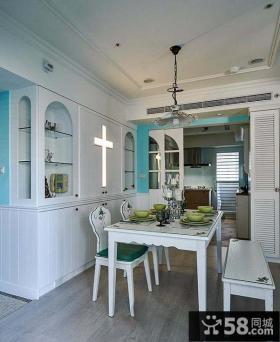 地中海简约风格两居室装修效果图片