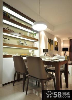 优质现代风格家装餐厅效果图片
