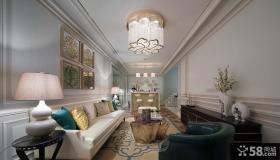 现代豪华别墅设计室内效果图片