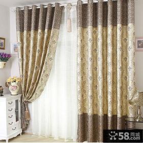 优质欧式卧室窗帘大全2014图片