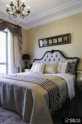 欧式新古典二居卧室装修效果图