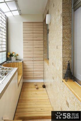 家庭小阳台设计效果图片
