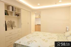 简单家庭设计卧室柜图片