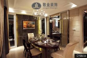 日式家用餐厅装修效果图片