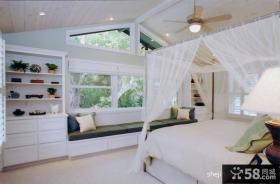 欧式风格卧室飘窗装修效果图大全2013图片