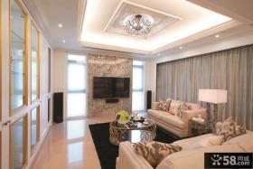 美式别墅家居设计室内效果图