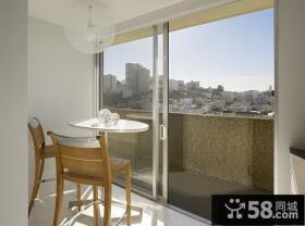 三室两厅休闲的阳台装修效果图大全2012图片